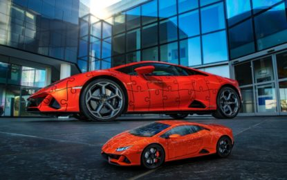 Lamborghini e Ravensburger: Huracán EVO in un puzzle 3D