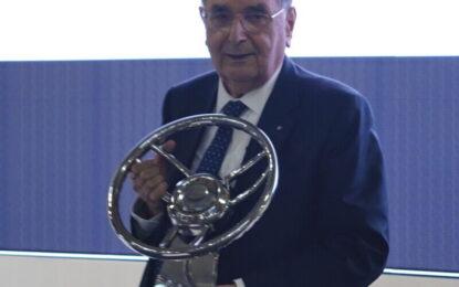 Giampaolo Dallara premiato a Milano AutoClassica