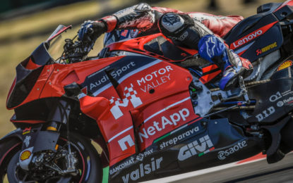 MotoGP: Motor Valley sulle Ducati in pista a Misano