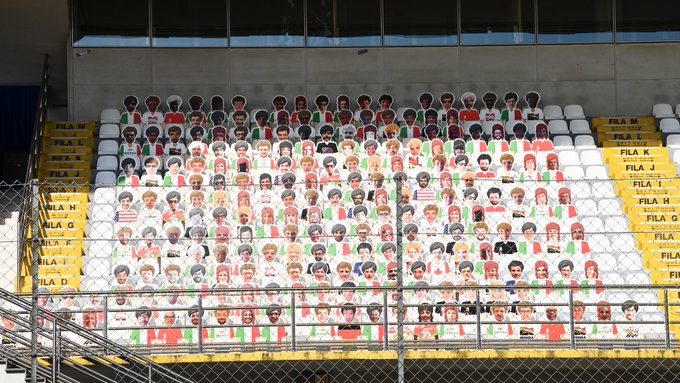 Face For Fan: quasi 1000 tifosi in tribuna a Monza. Inclusi Vettel e Leclerc