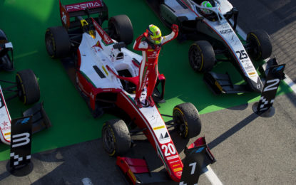 F2: Mick Schumacher vince la Feature Race a Monza