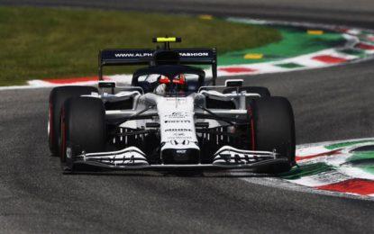 La bandiera rossa trasforma il GP d'Italia in una gara sprint