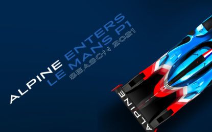 Nel 2021 Alpine Endurance Team entra nella categoria LMP1