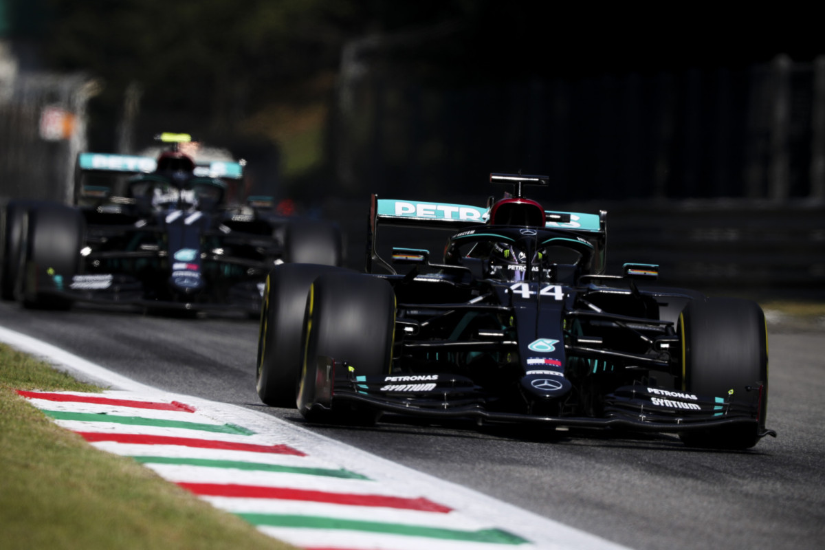 Dominio Mercedes in qualifica a Monza. Senza party mode. Ferrari a fondo