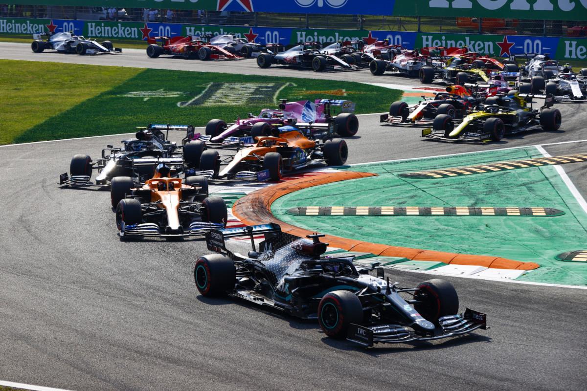 Formula 1 announces audience figures for 2020