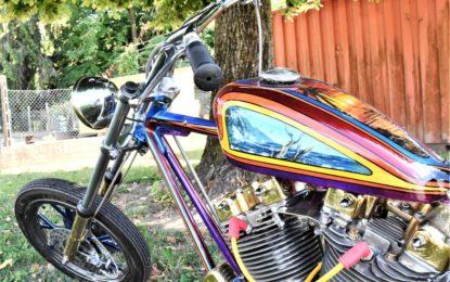 A Modena Motor Gallery in anteprima mondiale una Harley-Davidson rarissima