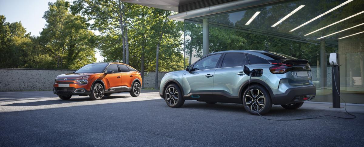 Ordini aperti per Nuova Citroën C4 e Nuova Citroën ë-C4 – 100% ëlectric
