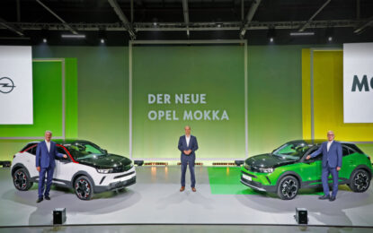 Anteprima mondiale nuovo Opel Mokka e Mokka-e