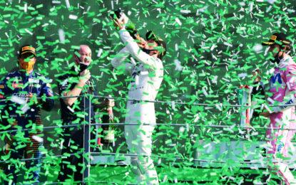 Incredibile Italia con Gasly, Sainz e Stroll. Hamilton 7°. E doppio KO Ferrari