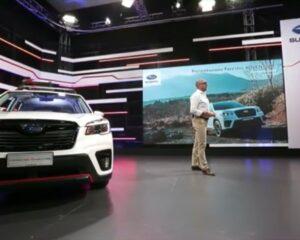 Fotogallery: web conference Nuova Subaru Forester 4DVENTURE