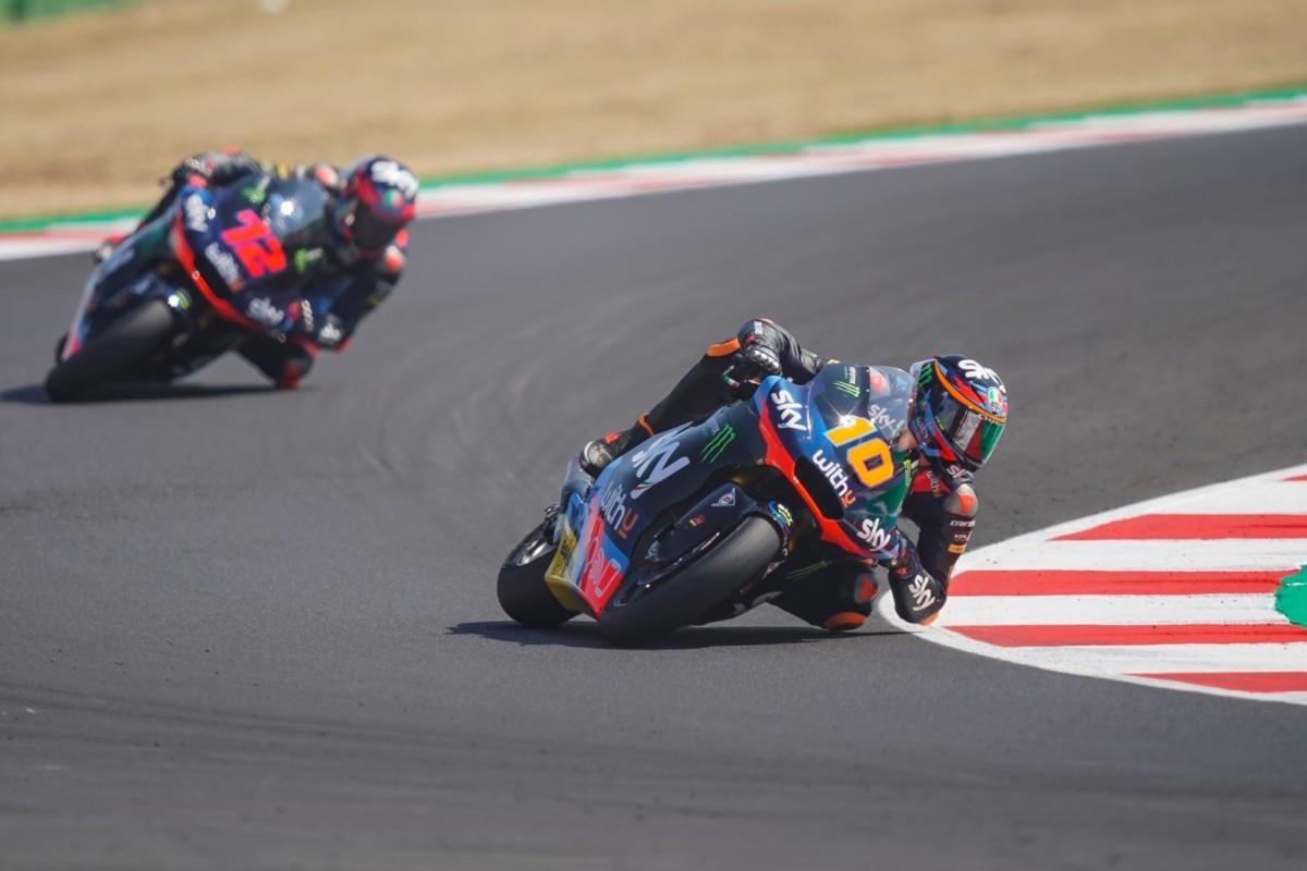 Moto2: podio tutto italiano a Misano con Marini, Bezzecchi e Bastianini