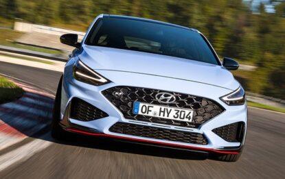Nuova Hyundai i30 N: massimo divertimento alla guida