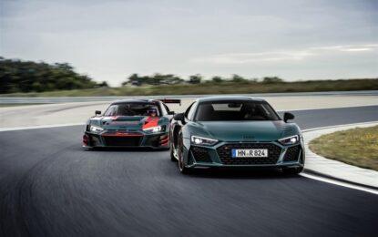 Audi R8 green hell: edizione limitata nata al Nürburgring