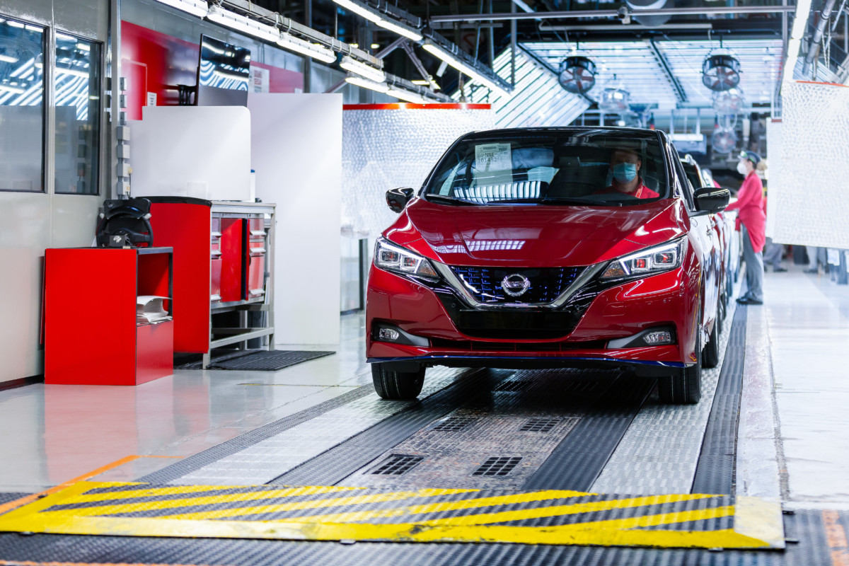 500.000 Nissan LEAF prodotte al mondo