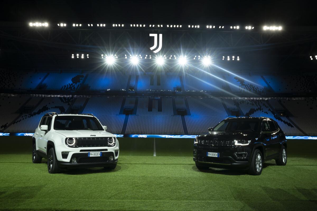 La Juventus in campo con la tecnologia Jeep 4xe