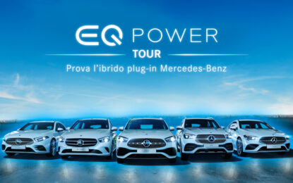 Mercedes-Benz EQ POWER Tour 2020