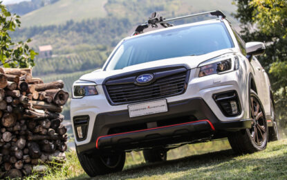 Nuova Subaru Forester 4DVENTURE: sportiva e avventurosa