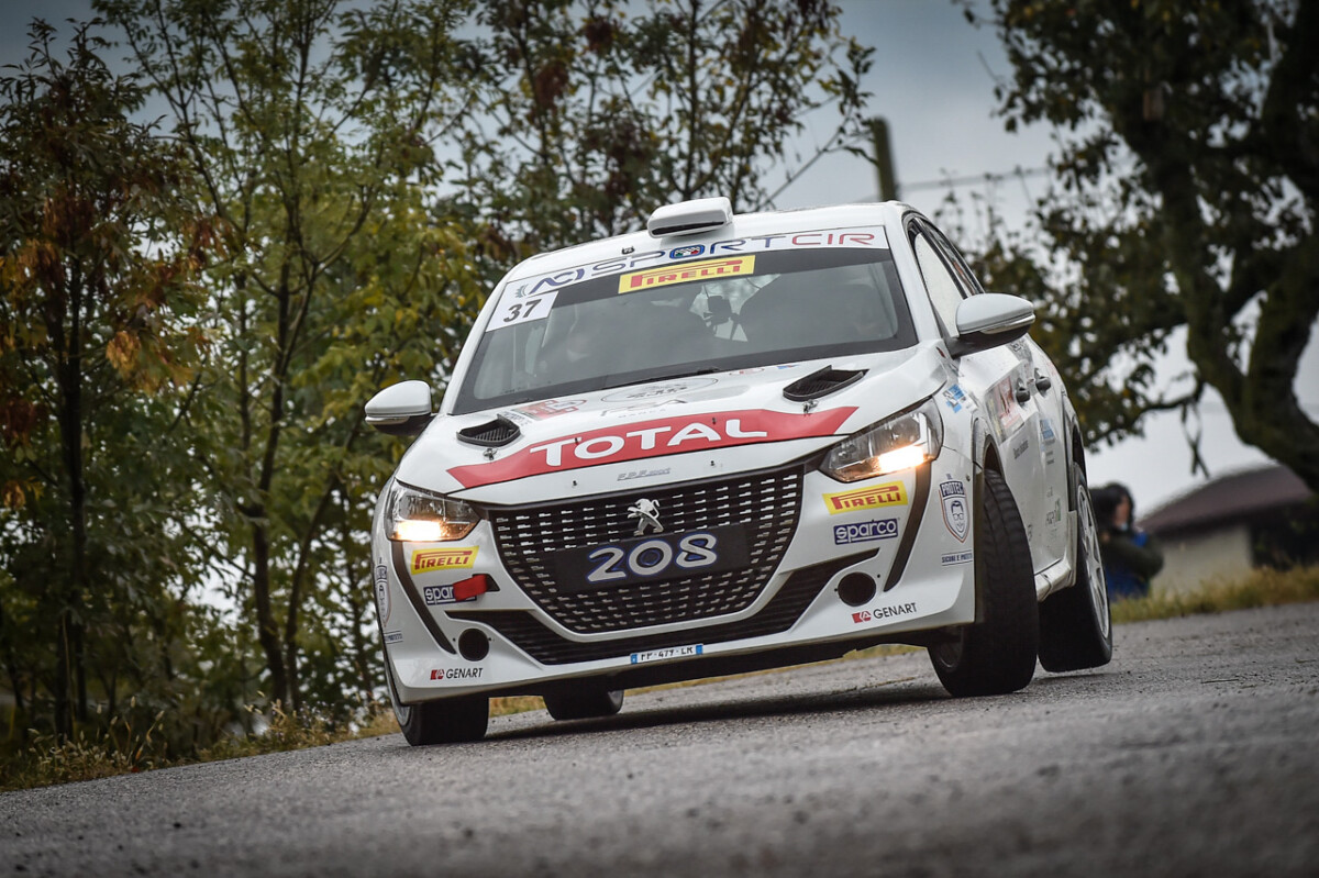 Andreucci e Peugeot 208 Rally 4 vincono il Due Valli