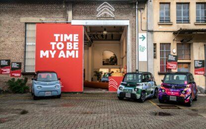 Citroën alla Milano Design City con AMI, l'elettrico per tutti