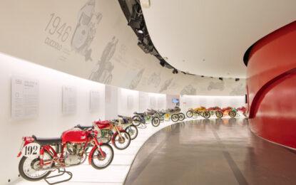Il Museo Ducati riapre a tempo pieno