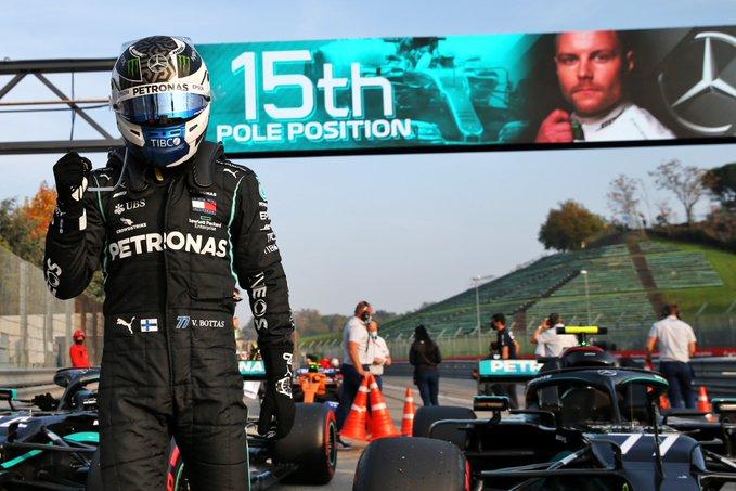 Bottas, Hamilton e Verstappen: i soliti tre nelle qualifiche di Imola