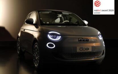 """Fiat Nuova 500 vince il """"Red Dot Award 2020"""""""