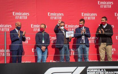 Consegnati i premi alla carriera a Gian Carlo Minardi e Pierluigi Martini