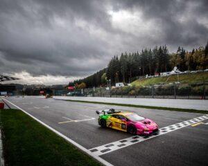 Lamborghini: a Spa terza vittoria e leadership di Gilardoni