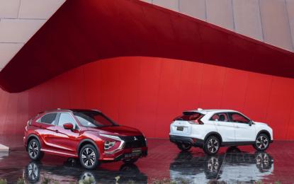 Mitsubishi presenta la nuova ECLIPSE CROSS ibrida plug-in