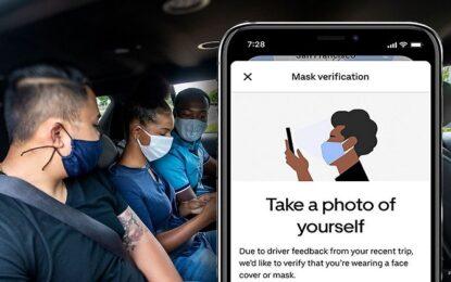 """Uber estende la tecnologia """"Mask Verification"""" per la sicurezza di tutti"""