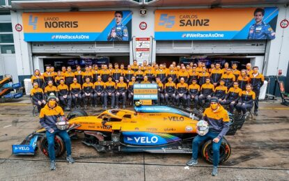 McLaren Racing per la Giornata Mondiale della Salute Mentale