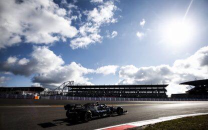All'Eifel pole di un Bottas scatenato. Poi Hamilton, Verstappen e Leclerc