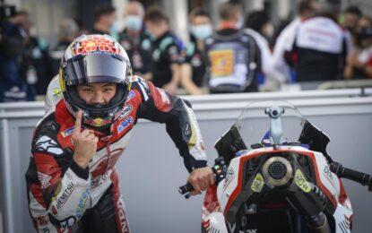 Al GP di Teruel Nakagami riporta il Giappone in pole dopo 16 anni