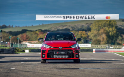 Debutto in pista al Goodwood Speedweek per Toyota GR Yaris