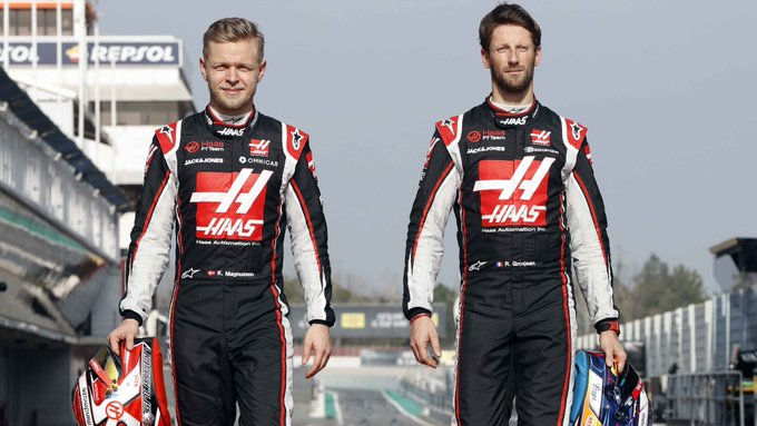 Ufficiale: la Haas saluta Grosjean e Magnussen
