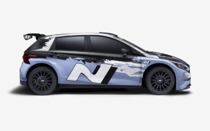 Presentata la nuova Hyundai i20 N Rally2