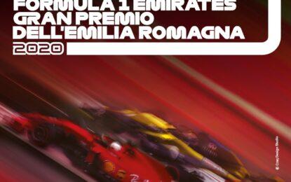 Il poster ufficiale del GP dell'Emilia Romagna
