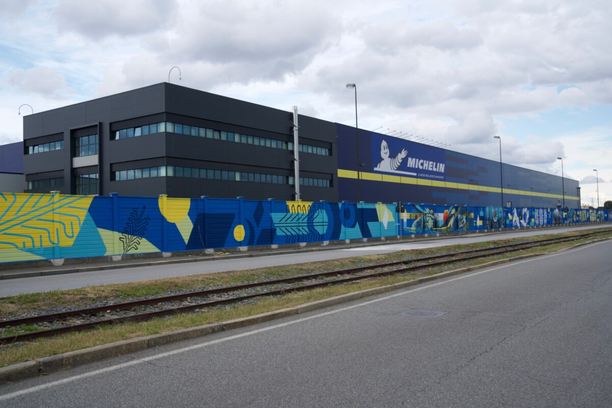 Nuovo European Distribution Center Michelin a Torino