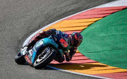MotoGP: ad Aragon la pole è di Quartararo