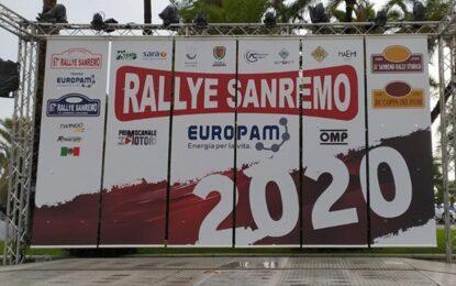 67° Rallye Sanremo annullato causa maltempo