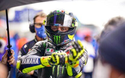 Valentino Rossi positivo al Covid. Salterà Aragon