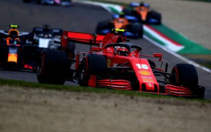 """Ferrari 5° e 12° a Imola: """"Tanta strada da fare, ma ci riusciremo"""""""