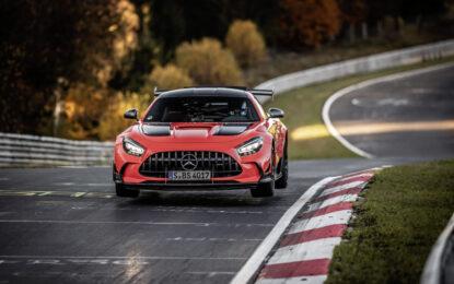 Mercedes-AMG GT Black Series record al Nürburgring