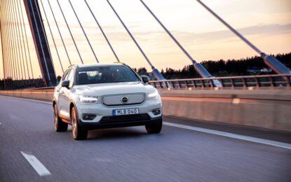 Volvo Cars: a ottobre vendite globali in aumento del 7,1%