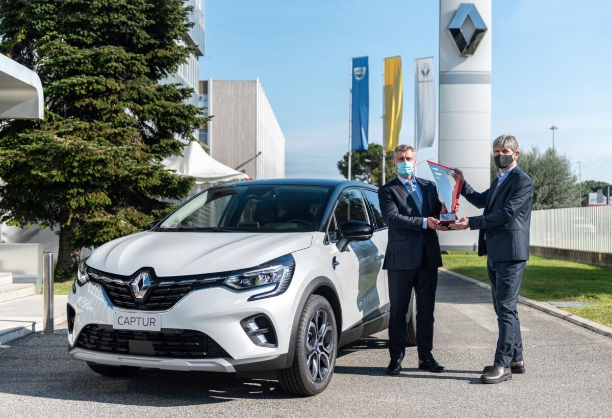 Nuovo Renault Captur più votato dal pubblico ad Auto Europa 2021