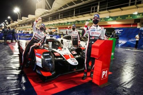 WEC: Toyota campione dopo la doppietta in Bahrain
