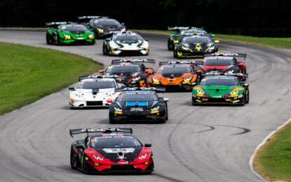 Lamborghini Super Trofeo: i calendari 2021 Europa, Nord America e Asia
