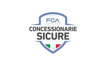 """FCA: """"concessionarie sicure"""" per tutti gli italiani"""