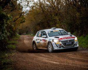 Andreucci e Peugeot 208 vincono l'Italiano Rally 2 Ruote Motrici 2020