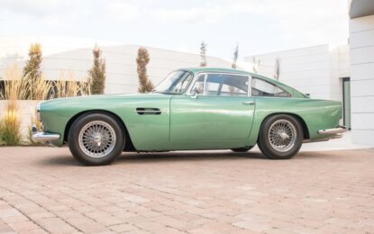 "All'asta la splendida Aston Martin DB4 ""California Sage"""